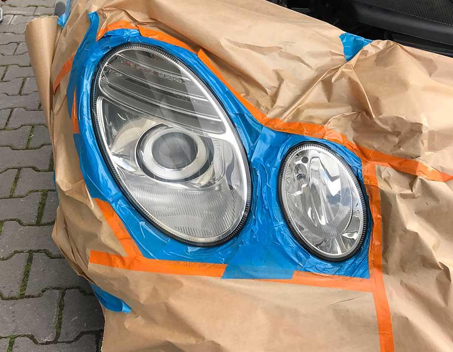 Reparierte Scheinwerfer-Scheinwerferaufbereitung in Porta Westfalica und Bielefeld-AUTO-DOC Adam Wronka