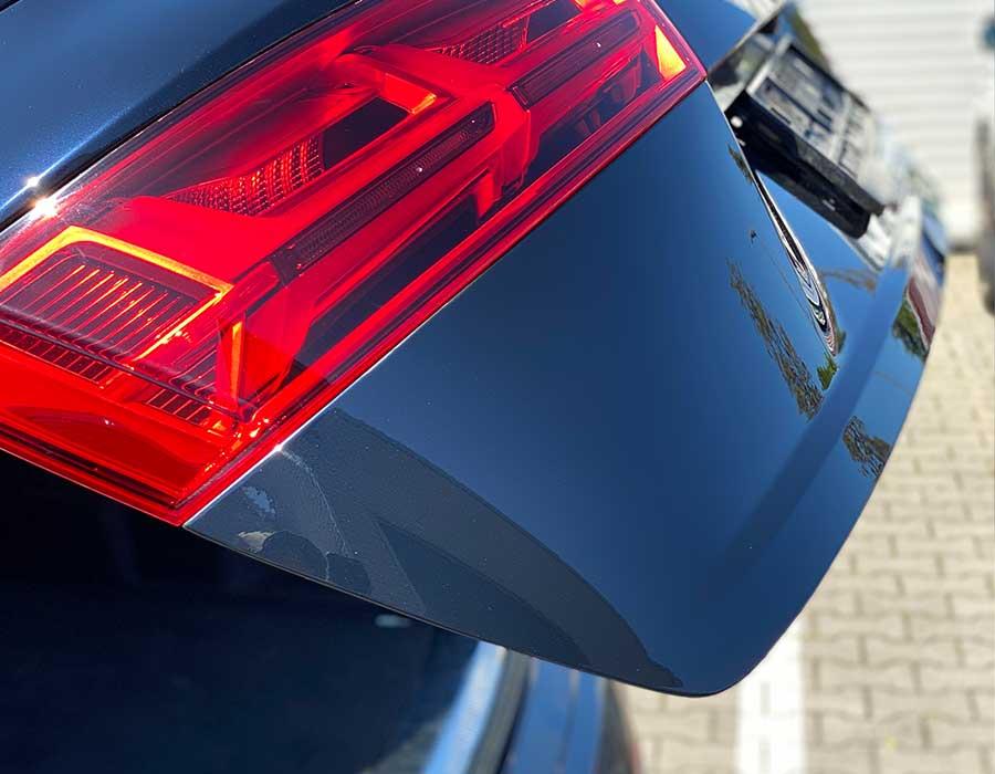 Reparierte Kratzer auf Kofferraumtür - Lackdoktor in Porta Westfalica und Bielefeld-AUTO-DOC Adam Wronka